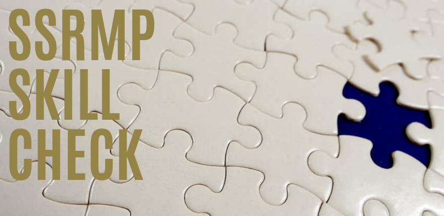 SSRMP Skill Check